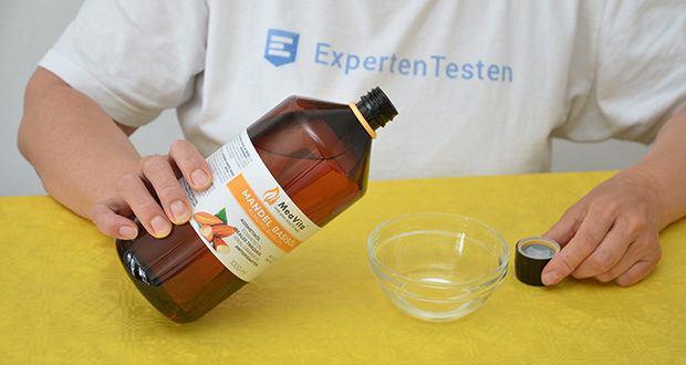 MeaVita Mandel Basisöl im Test - ein beliebtes Öl, das für die Aromatherapie verwendet wird
