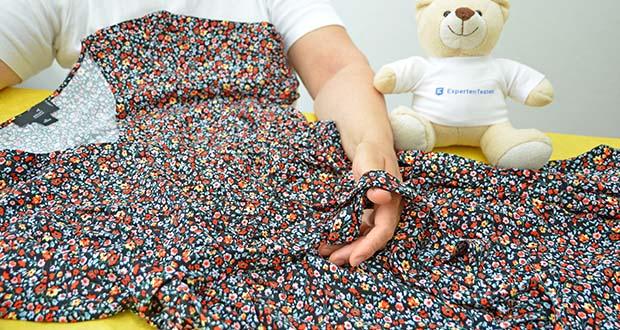 MERAKI Damen Mini A-Linien-Kleid im Test - weite Passform