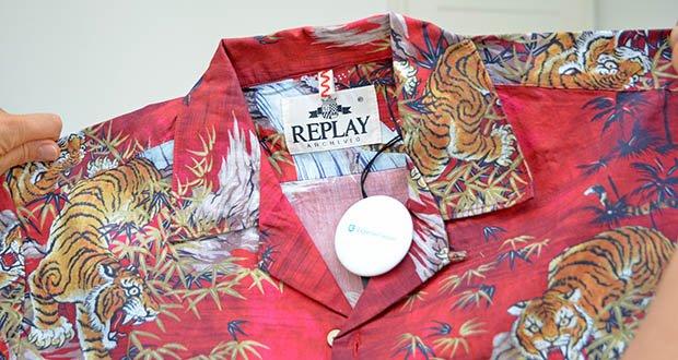Replay Herren Hemd im Test - Verschluss: Knopf