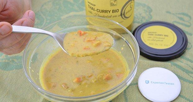 Wacker Bio Thai-Curry Suppe im Test - 100% naturbelassen, bio & vegan & glutenfrei