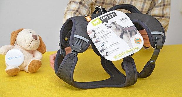 Ferplast Geschirr für Hunde Ergotrekking P im Test - ergonomische Form mit weicher Polsterung