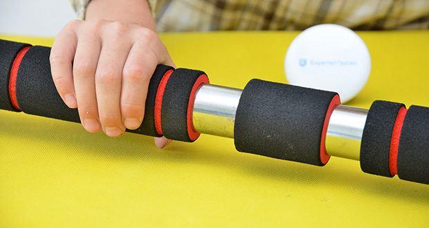 FFITNESS Pull Up Door Bar Türreck im Test - unterstützt eine maximale Belastung von 100 kg