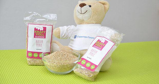 KRAFTVOLL Bio Quinoa im Test - schnell und einfach zubereitet