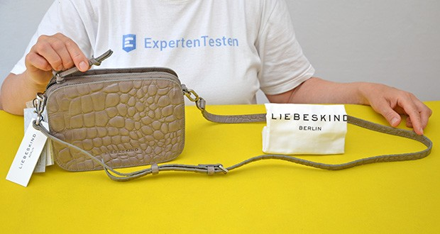 Liebeskind Berlin Damen Luka Umhängetasche im Test - im Kroko- und Schlangenlook