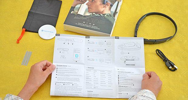 Mu6 Ring Open Ear Kabellose Kopfhörer im Test - kombiniert mit dem eingebauten Mikrofon, bietet Ihnen einen Klang mit niedriger Latenz und ein klares Gesprächserlebnis