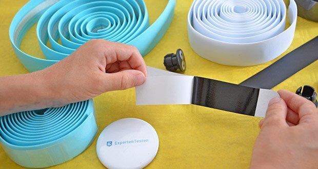 URBAN ZWEIRAD Lenkerbänder im Test - mit elastischem Finishtape und Endkappen für Single Speeds, Fixies und Rennräder