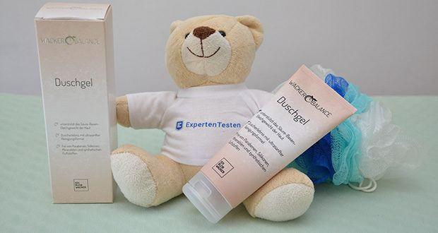 Wacker Duschgel im Test - Hautverträglichkeit dermatologisch bestätigt