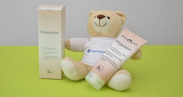 Wacker Körperlotion im Test - Hautverträglichkeit dermatologisch bestätigt