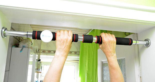 FFITNESS Pull Up Door Bar Türreck im Test - geeignet für den Einsatz in Haus, Garage oder Büro