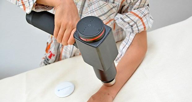 Hydragun Massagepistole im Test - mit optimalem Griff entworfen