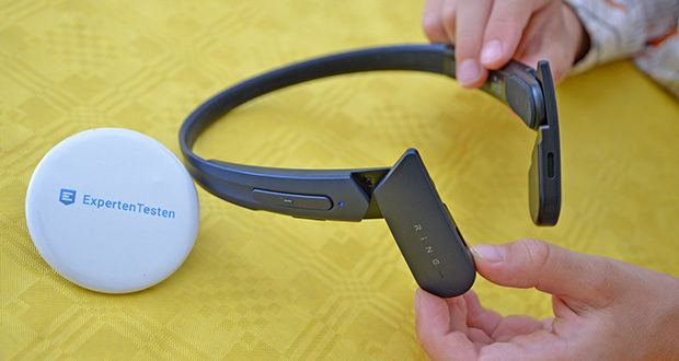 Mu6 Ring Open Ear Kabellose Kopfhörer im Test - 9 Stunden Spielzeit ermöglicht es Ihnen, den kontinuierlichen Einsatz zu erhalten, wenn Sie im Freien, auf Reisen, beim Laufen und im Fitnessstudio sind