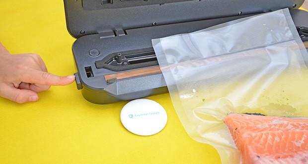 Inkbird Vakuumiergerät INK-VS01 im Test - ideal zum Versiegeln aller Arten von Fleisch, Gemüse, Obst, Fisch, Nüssen, Saucen, Pulver, Käse und vieles mehr