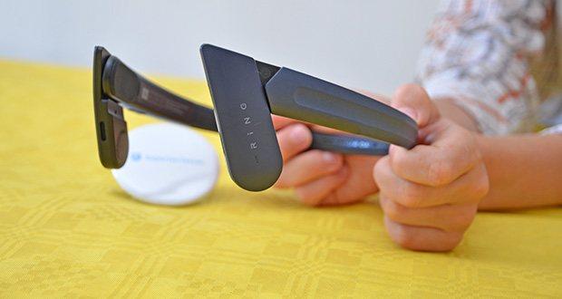 Mu6 Ring Open Ear Kabellose Kopfhörer im Test - dieses ergonomische Design ermöglicht es Ihnen, die Umgebungsgeräusche zu hören, während Sie Musik genießen, sorgt für die Sicherheit und normale Gespräche mit anderen