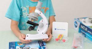 Welche Arten vom Mikroskop gibt es in einem Test?