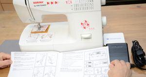 Lieferung von Nähmaschinen im Test und Vergleich