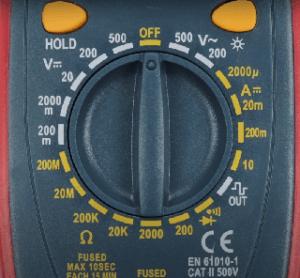 Alle Zahlen und Daten aus einem Digital Multimeter Test