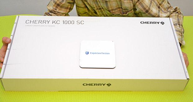 CHERRY KC1000 SC USB Security Tastatur im Test - kompatible geräte: PC / Server