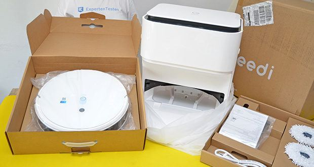 Yeedi Mop Station Roboter-Mopp im Test - 2500 Pa Saugleistung