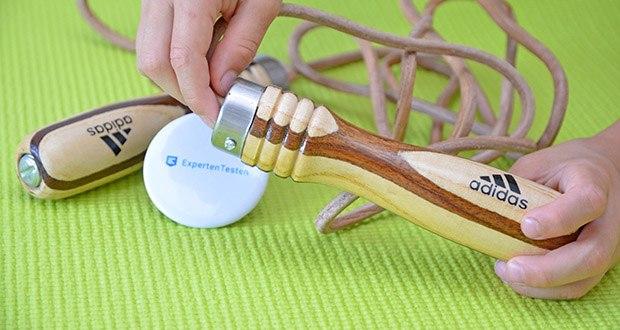 adidas Pro Springseil im Test - im Kern erschwerte Holzgriffe