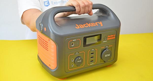 Jackery Tragbare Powerstation Explorer 500 im Test - hergestellt aus PC+ABS Materialien, verschleißfest und langlebig
