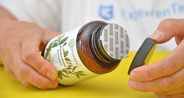 Naturely Mariendistel Komplex im Test - sind 100% vegan und frei von unerwünschten Zusatzstoffen