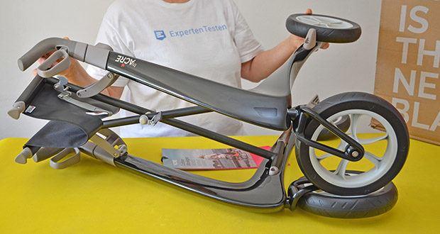 Seniorgo byACRE Carbon-Rollator Klassisch im Test - extrem stabile Konstruktion aus Carbon und Flugzeug-Aluminium