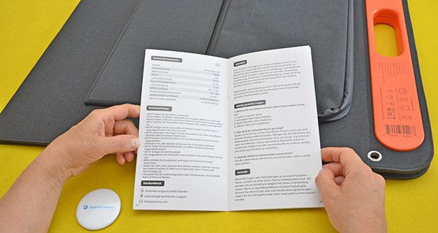 Jackery Faltbares Solarpanel SolarSaga 100 im Test - sicher und zuverlässig: FCC-Zertifizierung, ROHS-Zertifizierung, Überstromschutz, Überspannungsschutz, Kurzschlussstromschutz