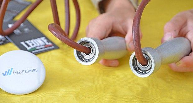 Leone Pro Springseil im Test - Griffe aus Aluminium