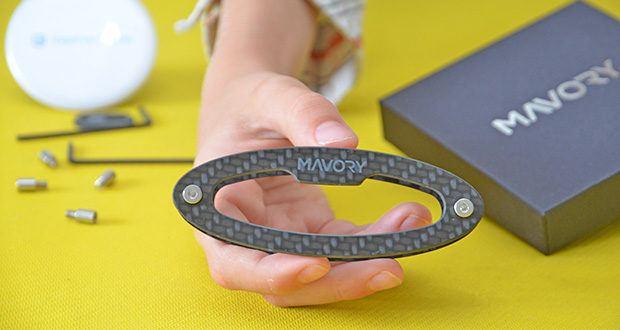 Mavory Carbon Schlüssel Organizer im Test - zeitloses Design