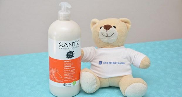 SANTE Naturkosmetik Feuchtigkeits Shampoo Bio-Mango & Aloe Vera im Test - echte Naturkosmetik - NATRUE zertifizierte Haarpflege, Organic, Vegan, Glutenfrei