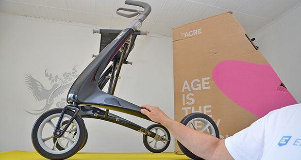 Seniorgo byACRE Carbon-Rollator Klassisch im Test - dynamisches Design, innovativ und stilvoll