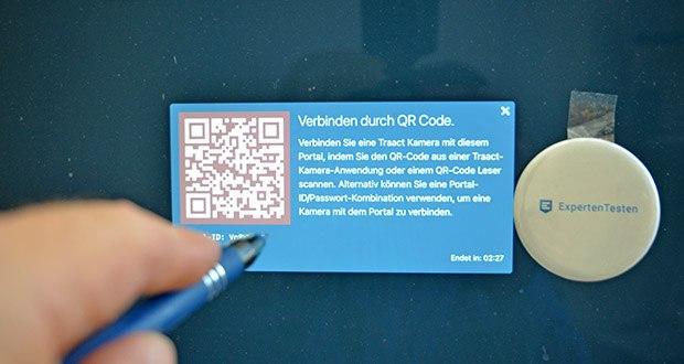 Traact von Fresh Byte im Test - einfach den QR Code abscannen - fertig!