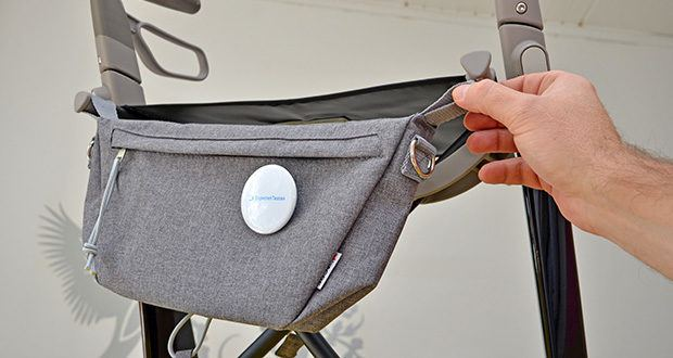 Seniorgo byACRE Carbon-Rollator Klassisch im Test - inklusive Organizer-Tasche (für kleine Gegenstände)