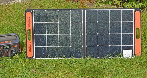Jackery Faltbares Solarpanel SolarSaga 100 im Test - perfekt für Jackery Explorer Powerstation
