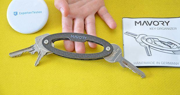 Mavory Carbon Schlüssel Organizer im Test - Dein Premium Schlüssel Manager