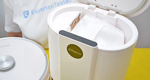 Ultenic T10 WLAN Staubsauger Roboter mit Absaugstation im Test - eine maximale Saugleistung von 3,000 PA für mühelose Reinigung von Schmutzteile auf verschiedenen Oberflächen, wie Feinstaub, Tierhaare, Kekskrümel, Kaffeebohnen usw.
