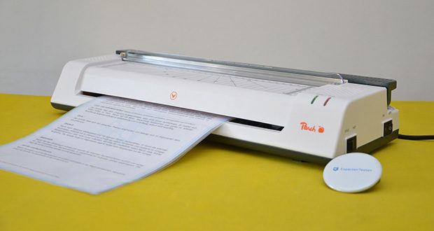 Peach PBP420 Laminiergerät A3 im Test - max. Arbeitsbreite: 330 mm; max. Foliengrösse: DIN A3