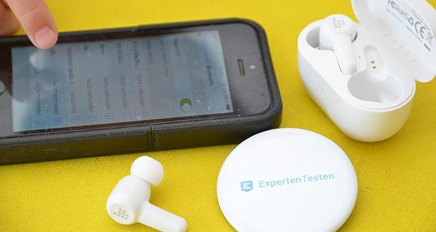 Tronsmart Apollo Air+ ANC In-ear-Kopfhörer im Test - Bluetooth-Version:5.2; Bluetooth-Kompatibilität: HFP/HSP/AVRCP/A2DP