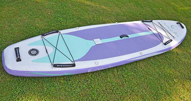 Outdoor Master Violet Spirit iSUP Board im Test - die ultimative Kombination aus Leistung, Qualität und Gewicht
