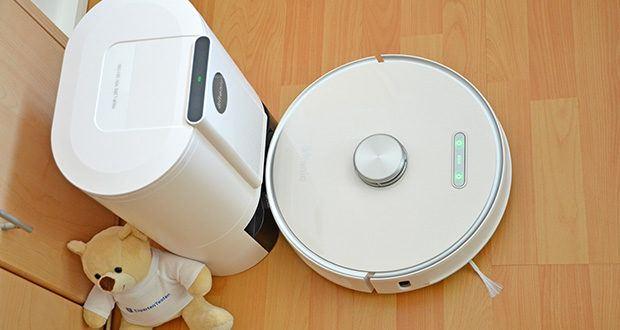 Ultenic T10 WLAN Staubsauger Roboter mit Absaugstation im Test - saugen und Wischen in Einem Arbeitsgang
