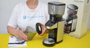 Die einfache Bedienung vom elektrischen Kaffeemühlen im Test und Vergleich