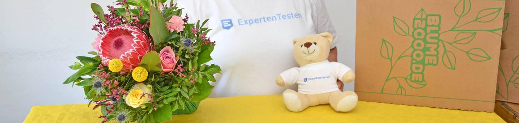 Blumenversände im Test auf ExpertenTesten.de