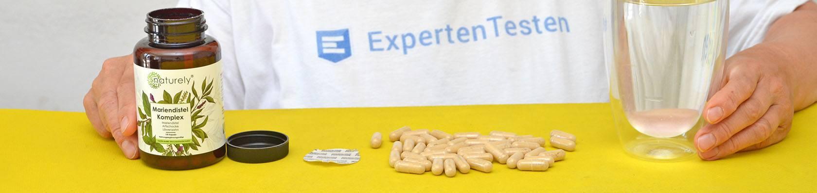 Mariendistel Komplex Produkte im Test auf ExpertenTesten.de