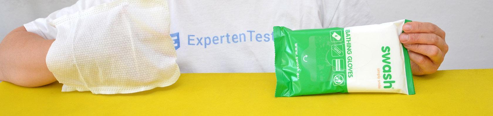 Waschhandschuhe im Test auf ExpertenTesten.de