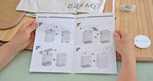 Reinigung der Wäschetruhe im Test und Vergleich