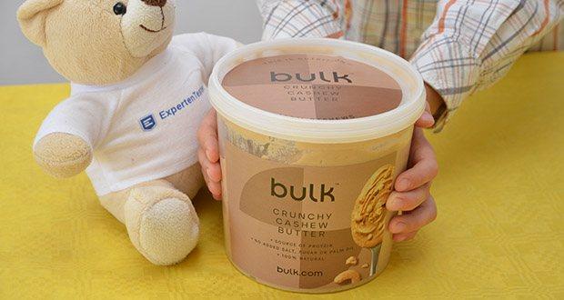 Bulk Cashewbutter Crunchy, 1 kg im Test - 100% natürliche Cashew-Butter von einer führenden Sporternährungs-Marke
