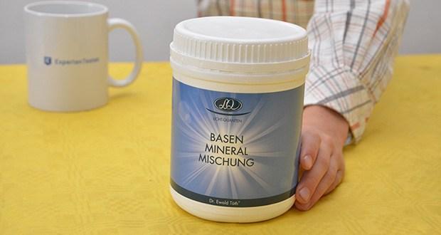Dr. Ewald Töth Licht-Quanten Basen Mineral Mischung im Test - perfekte Mineralstoffmischung mit Zink, Calcium und Magnesium