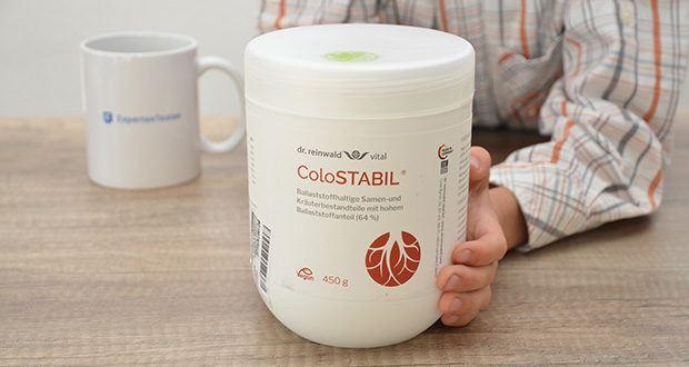 dr.reinwald vital ColoSTABIL Präbiotische Ballaststoffe im Test - probiotische Ballaststoffe dienen den gesundheitsfördernden Mikroorganismen im Dickdarm als Nahrung und können damit ein günstiges Darmmilieu unterstützen – infolgedessen kann die körpereigene Immunabwehr gestärkt werden