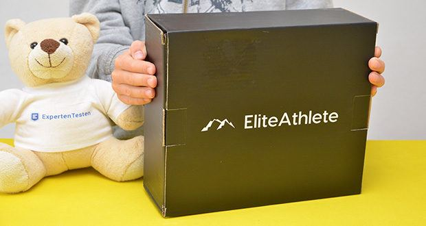 EliteAthlete Bauchtrainer schwarz im Test - Produktabmessungen: 32 x 5 x 17 cm; Artikelgewicht: 650 Gramm