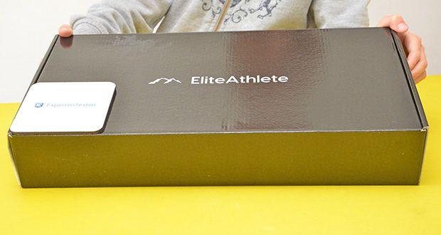 EliteAthlete Fitnessreifen Hula Hoop im Test - Gewicht: ca. 1,2 kg